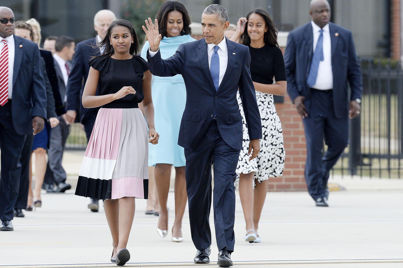 39 Of Sasha And Malia Obama 39 S Best Fashion Looks Style