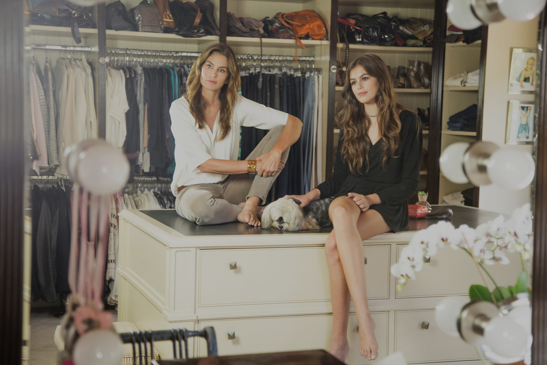 Cindy Crawford And Her Daughter Talk Her New Book