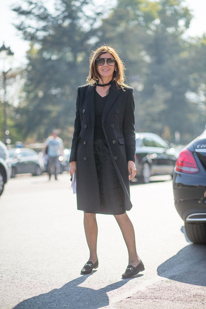 carine roitfeld on look books fashion weeks