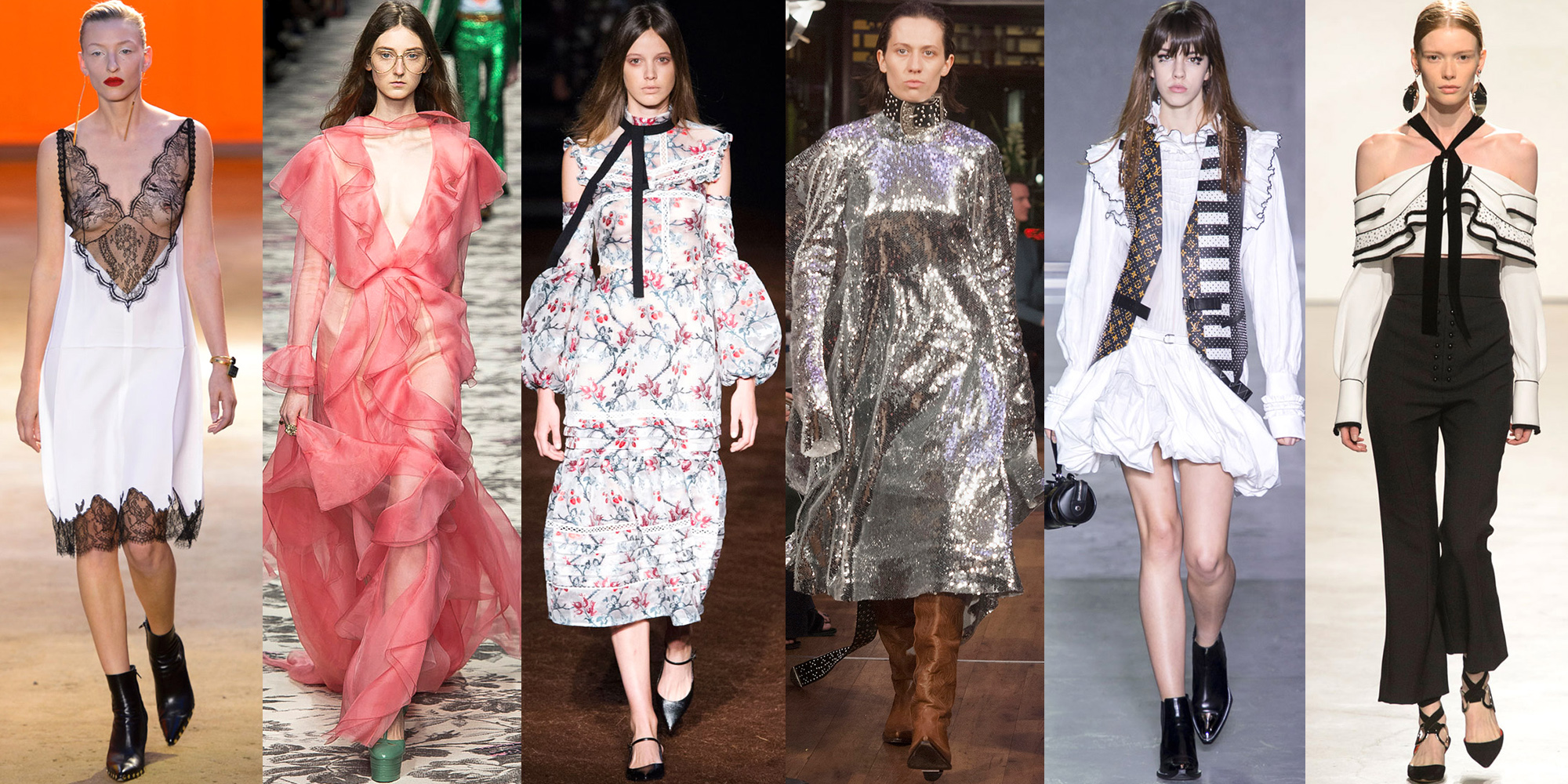 Spring 2016 Runway Trends Spring Summer 2016 Fashion Trends