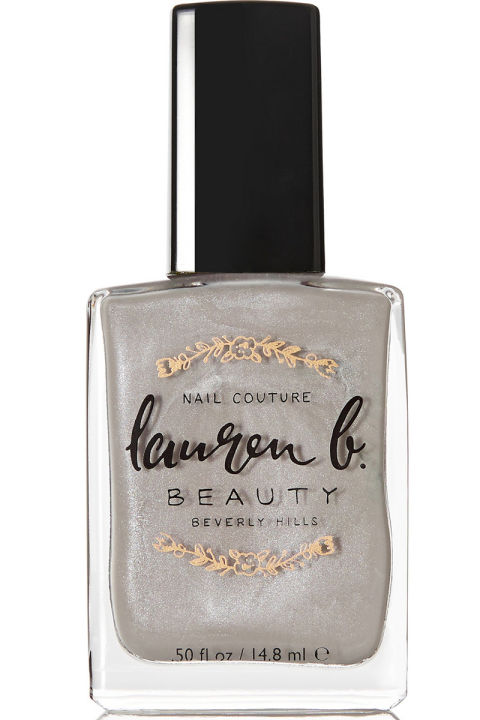 Lauren B. Beauty Nail Polish in Greystone Grey, $18, net-a-porter.com.