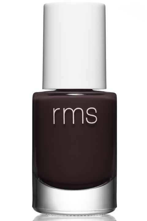 RMS Beauty Nail Polish in Diabolique, $15, rmsbeauty.com.