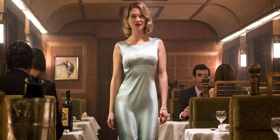 2015, Spectre, Lea Seydoux as Dr. Madeleine Swann