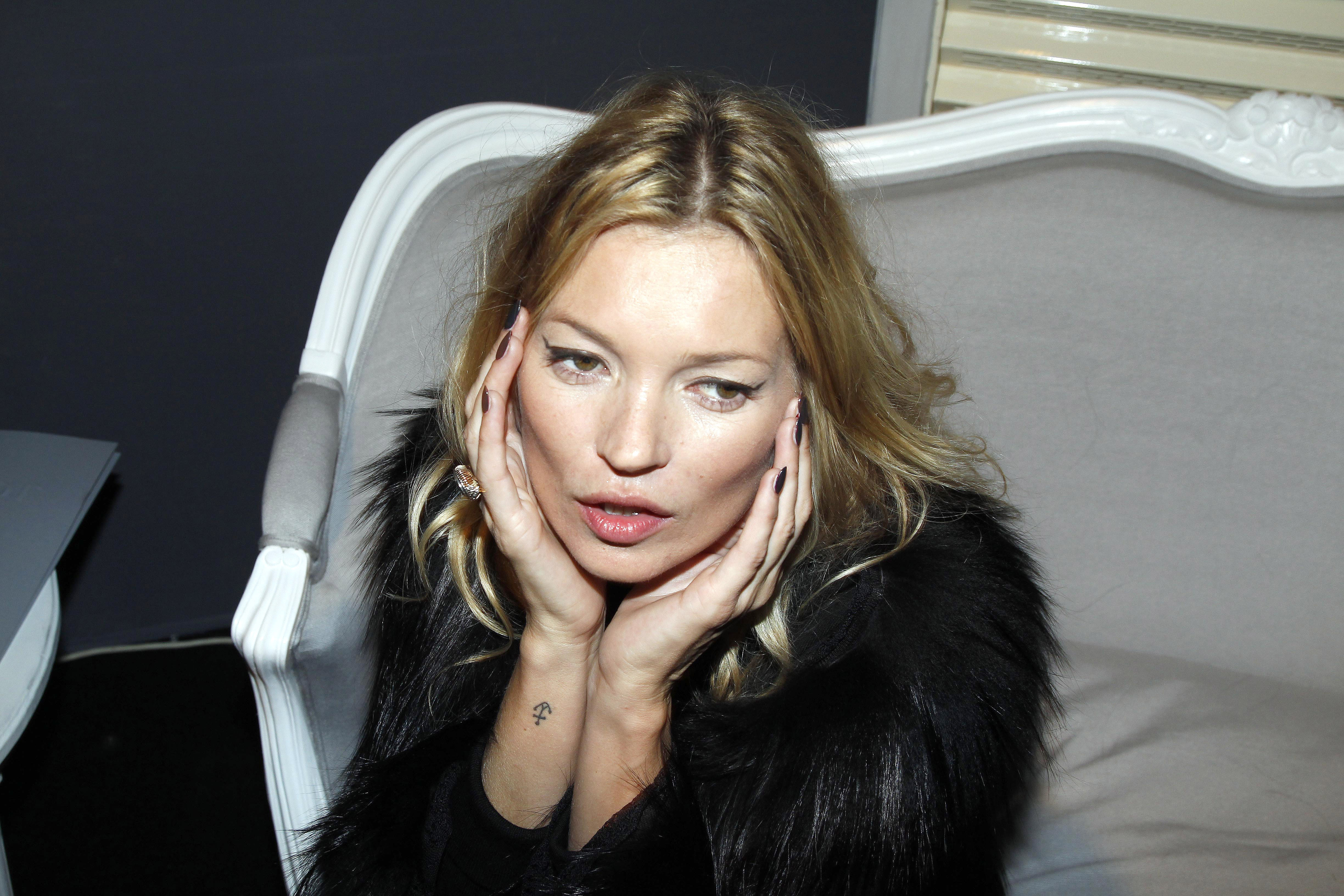 Kate moss has a secret instagram account for Kate moss tattoo