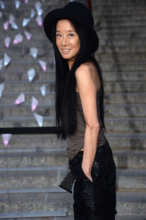 "Vera Wang turned her passion for everything bridal into a sprawling empire when her first boutique opened in 1990. She soon disrupted the traditional bridalwear market by creating head-turning gowns at every price point.  ""I try to bring an edginess to a traditional business,"" she once said. While her wedding gowns are worn by everyone from Kim Kardashian to Victoria Beckham, her dresses hold their own special place in contemporary fashion."