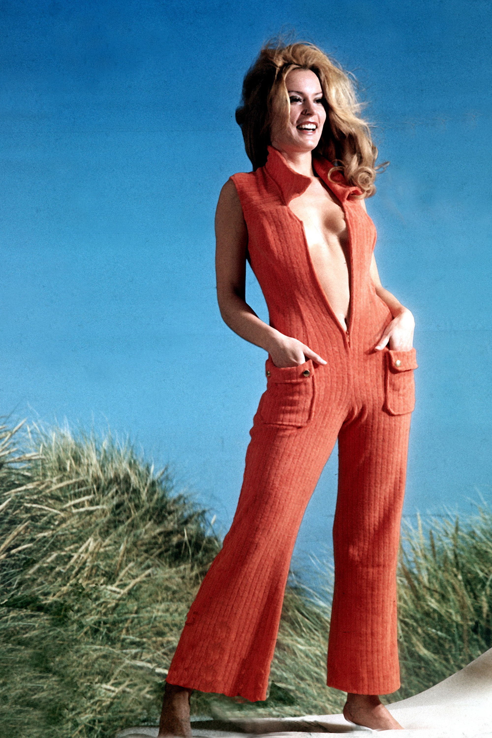 After 5 red dresses 70s