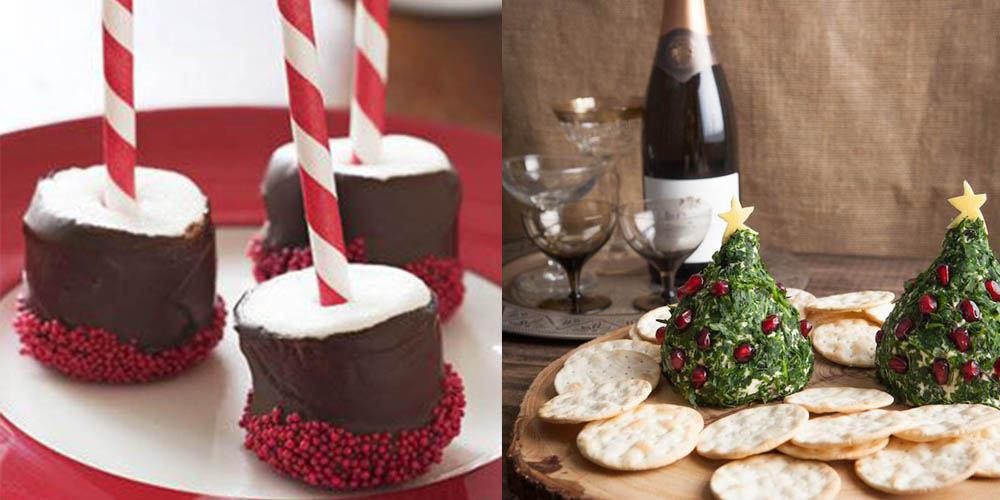 Christmas party decor ideas holiday dessert and cocktail for Christmas cocktail decorations