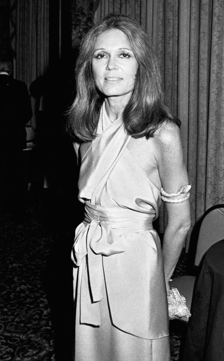 Gloria steinem fist really