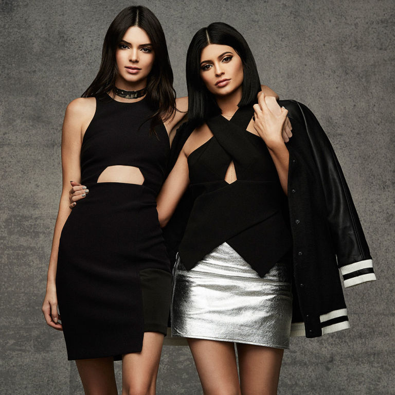 Kendall and Kylie's Second Topshop Collection Is Here in Time for the Holidays :   Kendall and Kylie Jenner, sister's latest campaign for Topshop