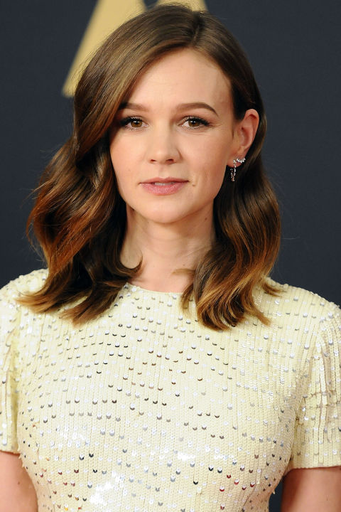 Make fine hair appear lush and thick with a shoulder-length chop full of subtly gradated layers throughout.