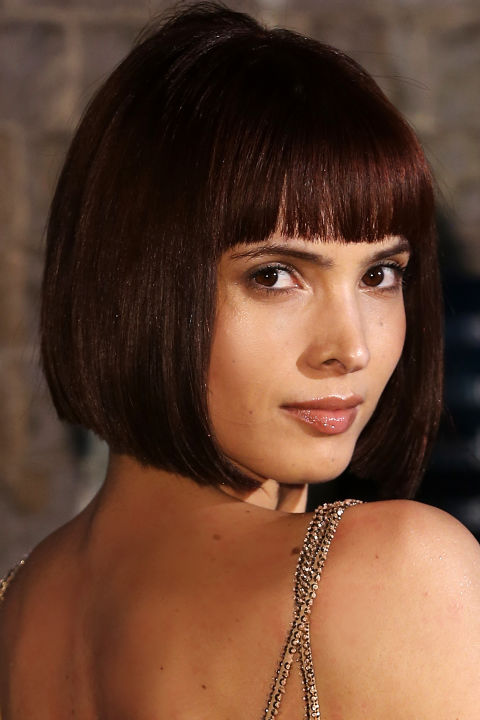 Ready for a revenge haircut? Need a quick disguise? Training to be a spy or a Bond girl or a dominatrix? Order a blunt bangs + bob combo, every time.