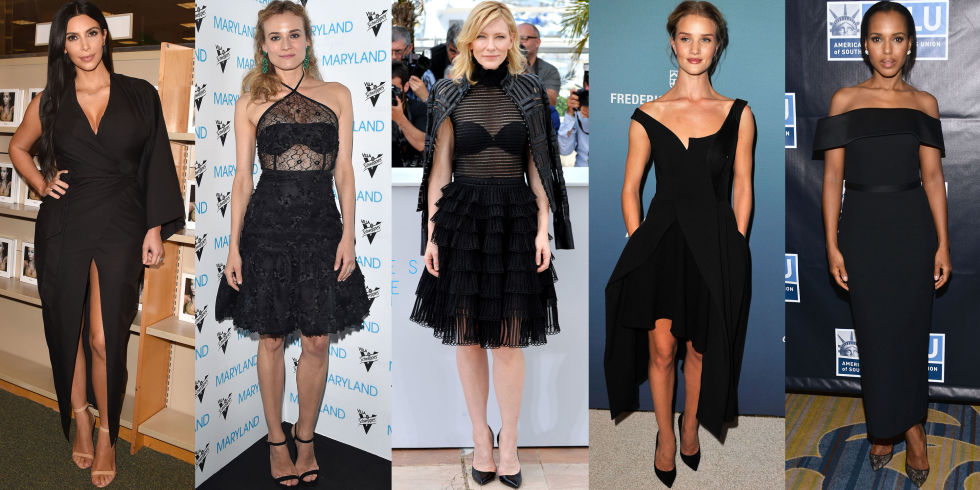 Little Black Cocktail Dress - Best Little Black Dresses 2015