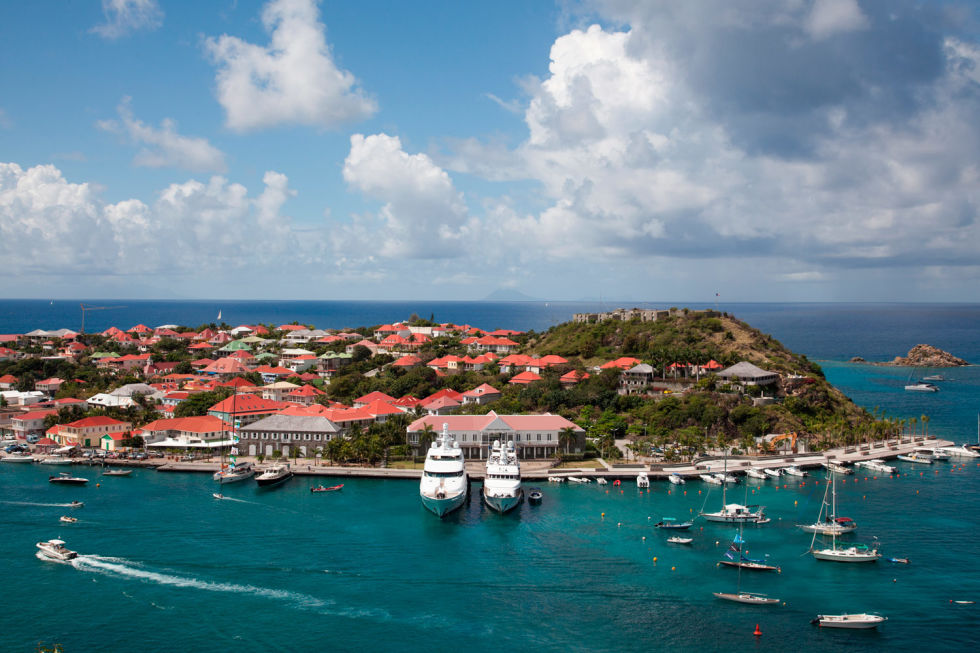 Who You'll See: Martha Stewart, Ellen DeGeneres, Leonardo DiCaprio, Beyoncé and Jay-ZWhere To Stay: Cheval Blanc St-Barth Isle de France; chevalblanc.com