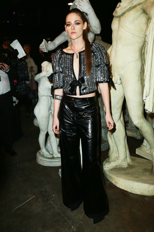 Kristen Stewart Rooney Mara Amp More Sat Front Row At