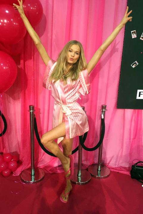 How Vita Sidorkina Got Ready For Her First Victorias Secret Fashion Show