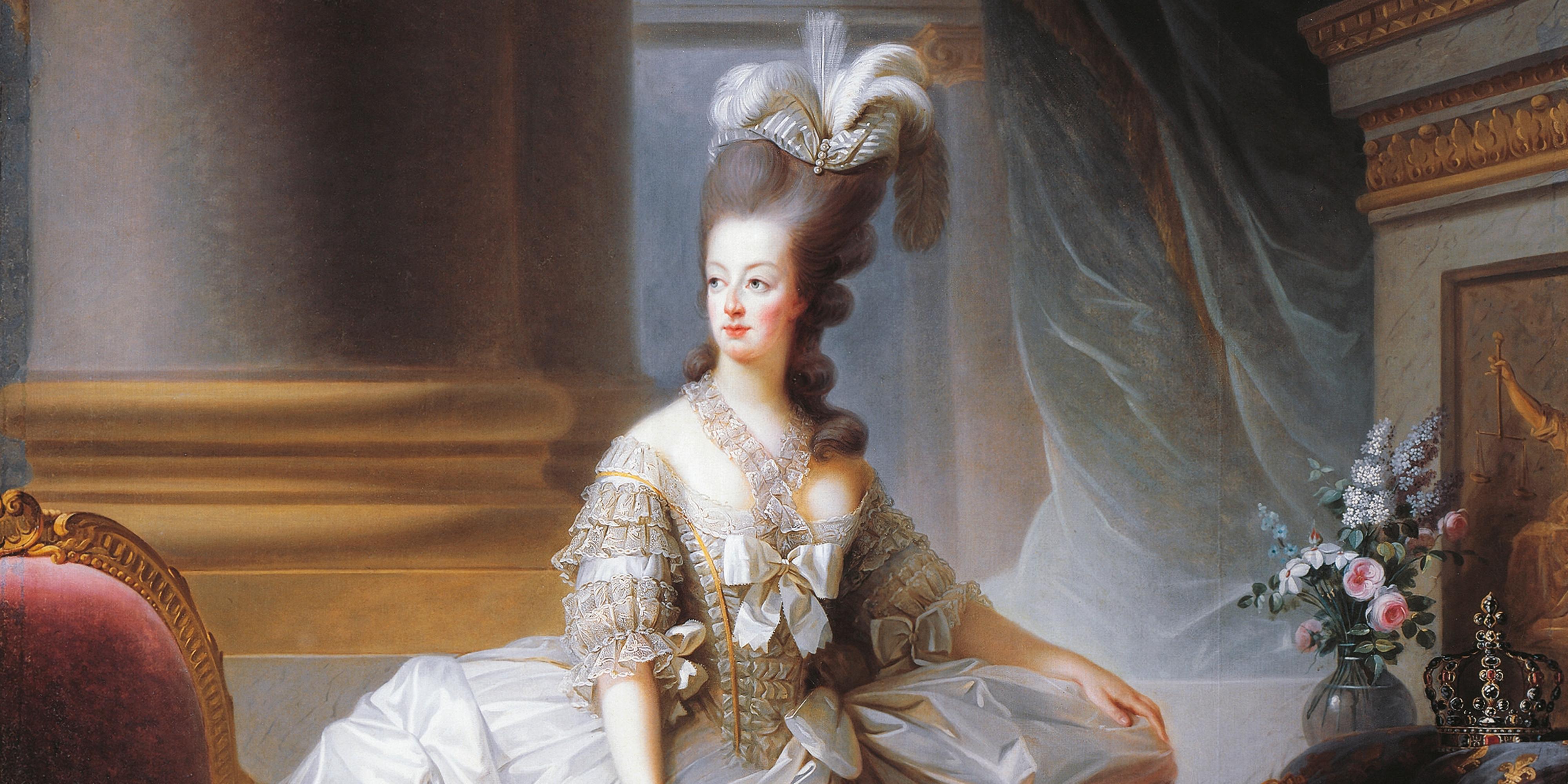 Marie antoinette love letters evelyn farr reveals affair for Marie antoinette wedding dress