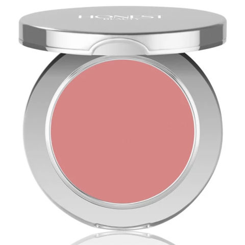Swap your powder blush out for a cream formula to add a bit of much-needed moisture along with the rosiness.Honest Beauty Crème Blush in Truly Thrilling, $22, honestbeauty.com.