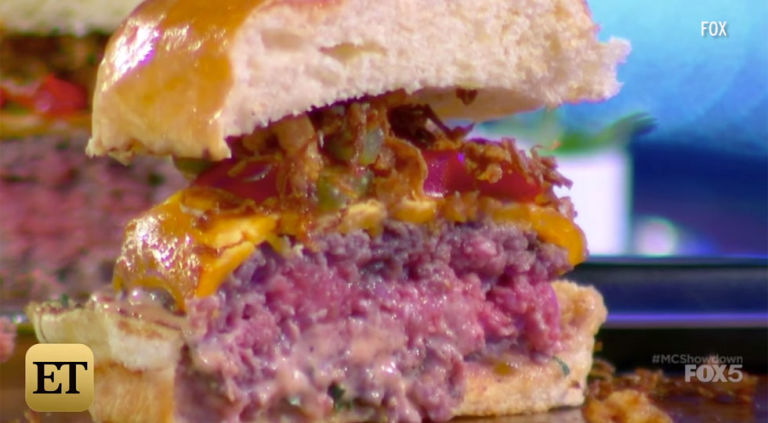 Gigi hadid burger masterchef