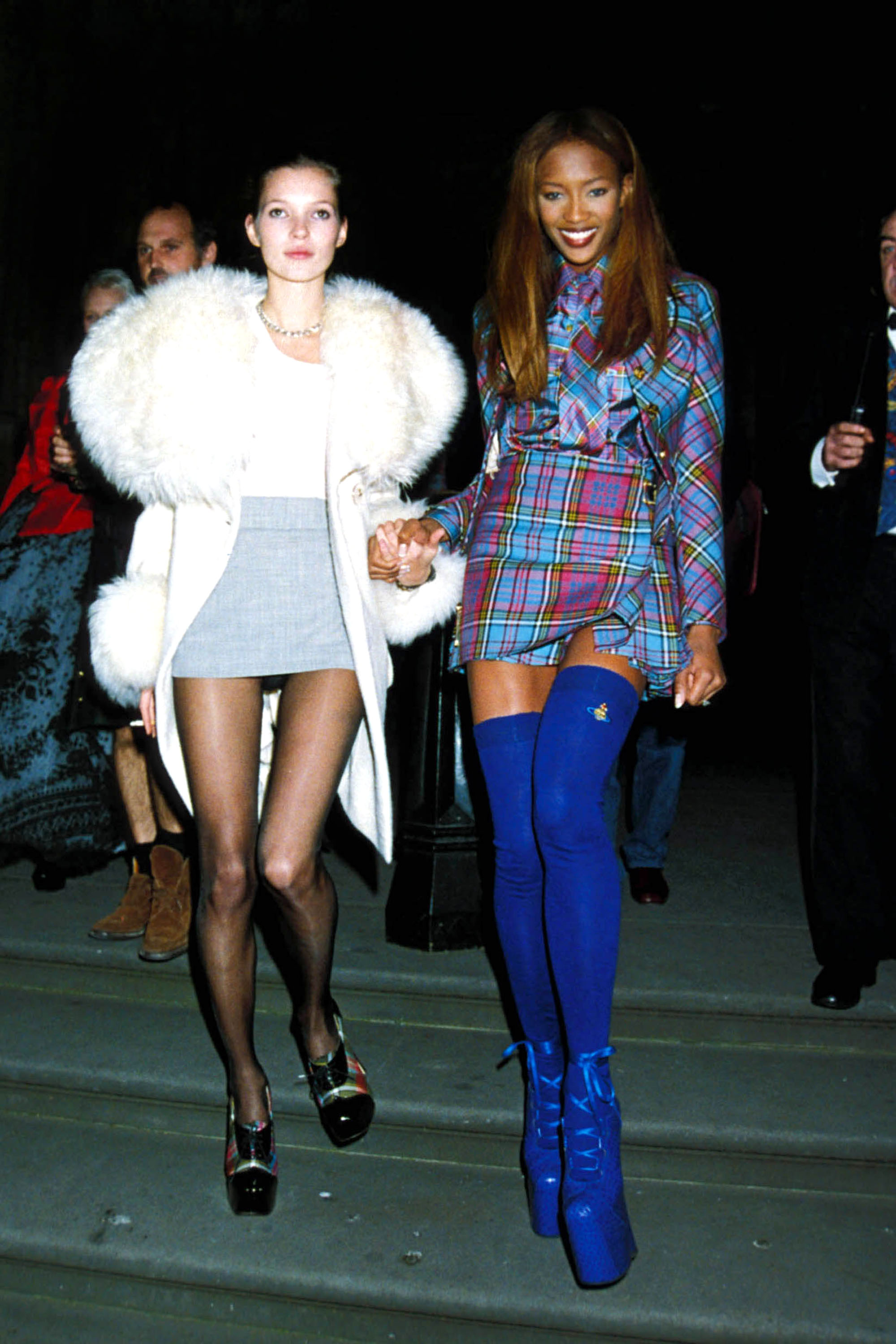 Naomi Campbell And Kate Moss In The 1990s Naomi Campbell