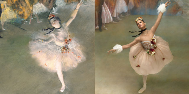 Misty Copeland Channels Edgar Degas