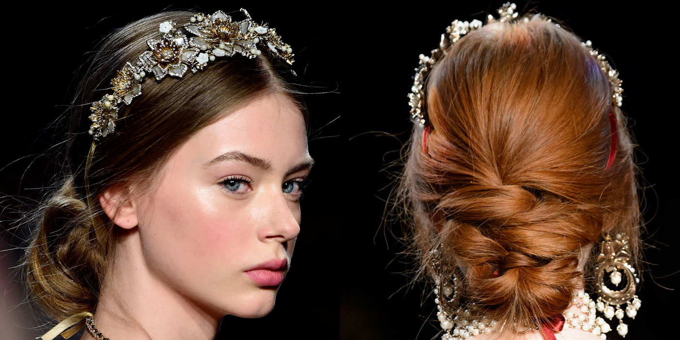 Best Bridal Makeup 2018 : The Best Beauty Looks from NYFW Fall 2016 - Fall 2016 Hair ...