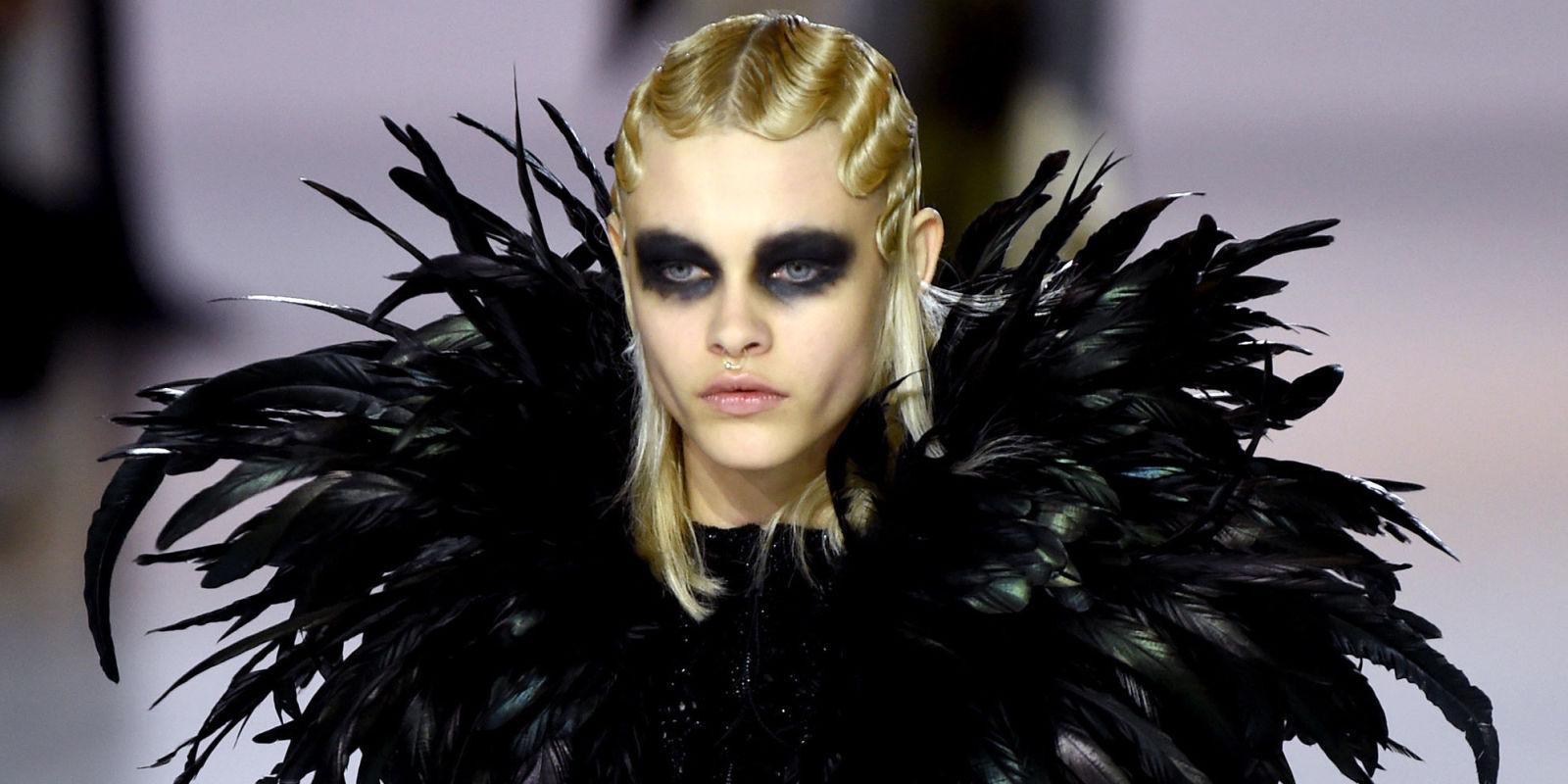 Marc Jacobs Fall 2016 Makeup