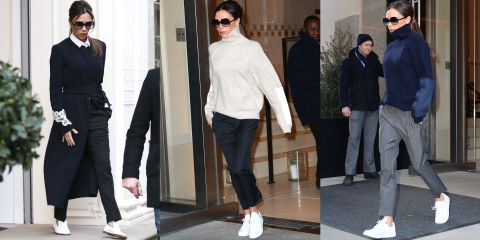 To acquire Why Victoria Beckham Is Giving Up Heels for Sneakers pictures trends