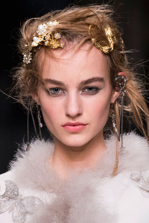 Guido described the hair at McQueen as having