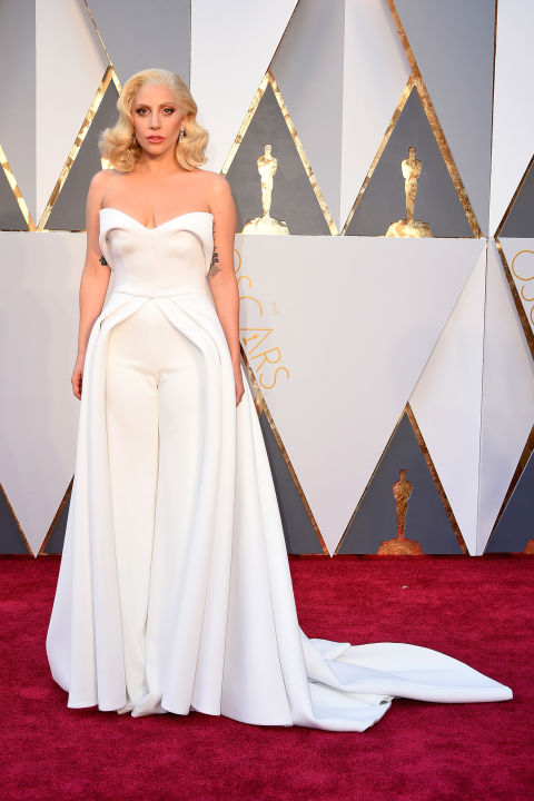 lady gaga oscars 2017 - photo #11