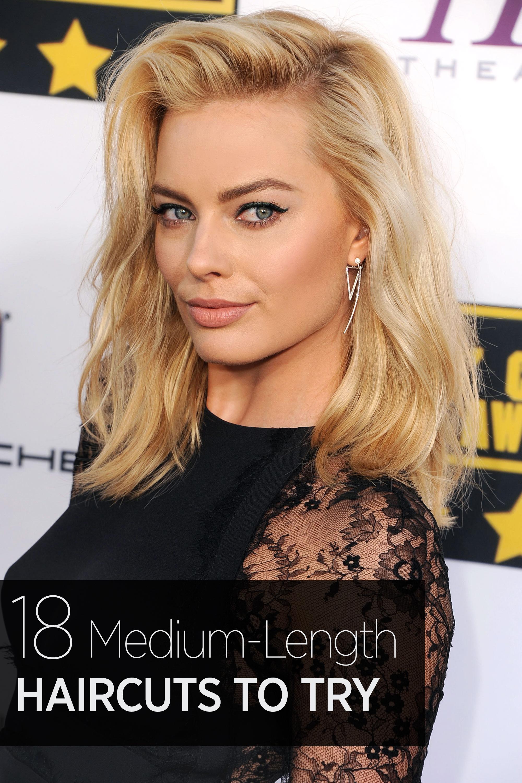 Fine 33 Best Medium Hairstyles Celebrities With Shoulder Length Haircuts Short Hairstyles Gunalazisus