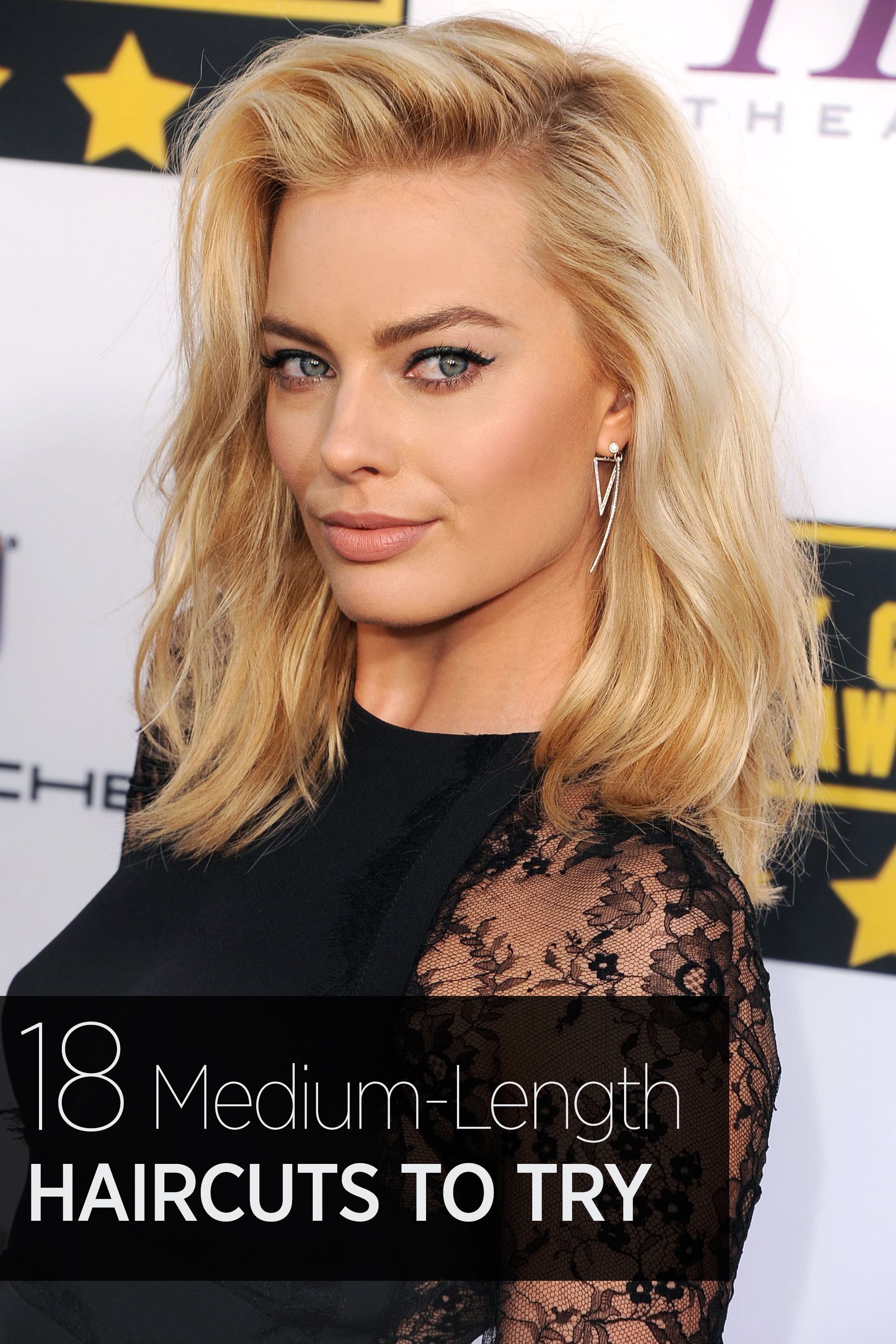 Wondrous 33 Best Medium Hairstyles Celebrities With Shoulder Length Haircuts Short Hairstyles For Black Women Fulllsitofus