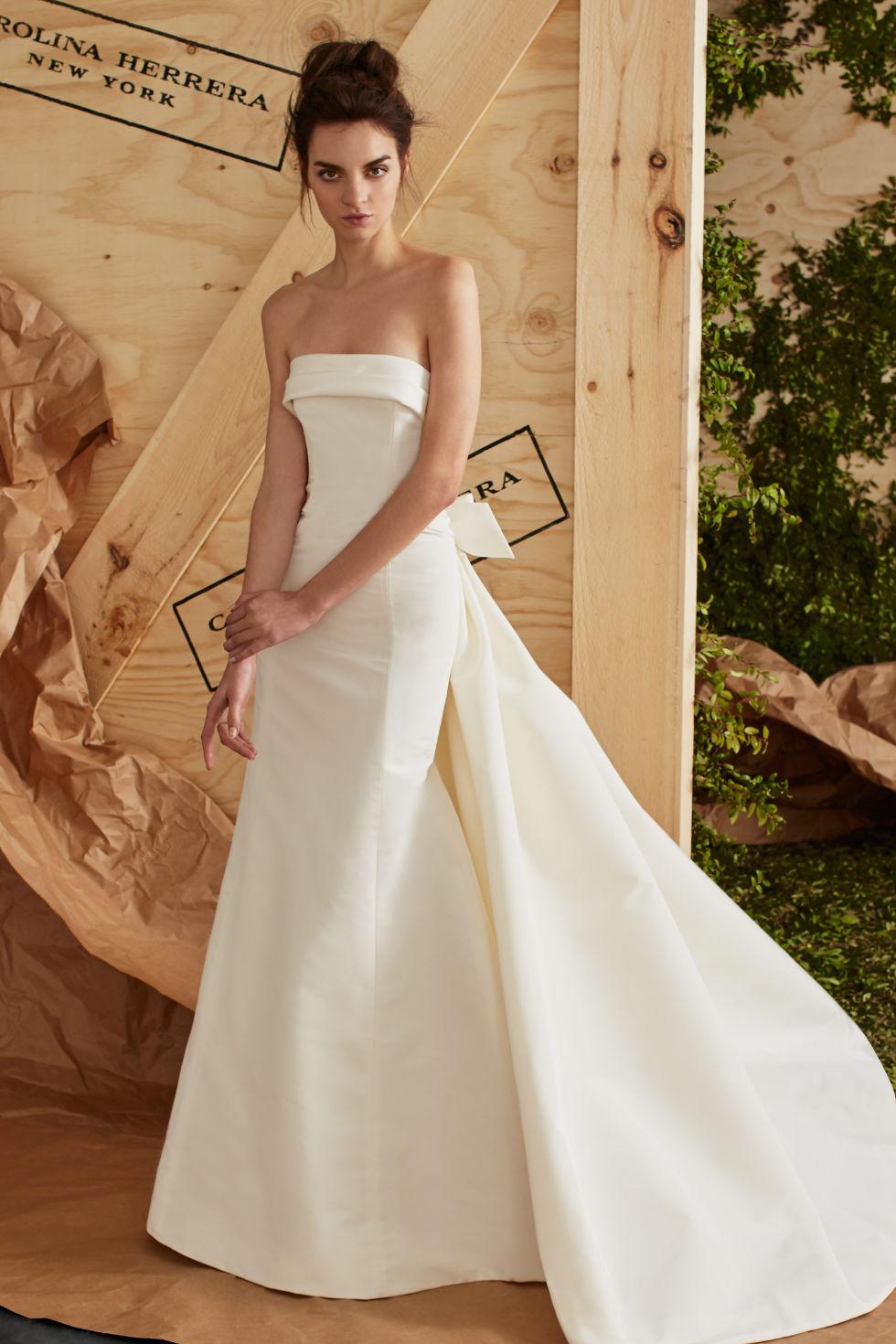6ee610756 15 carolina herrera spring 2017 wedding dresses see entire carolina herrera  bridal collection