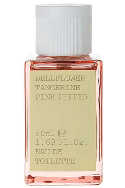 Smells like pink candy, but of the natural, Whole Foods variety (read: significantly less sugary, which is always better).Korres Bellflower Tangerine Pink Pepper, $38.50, korresusa.com.