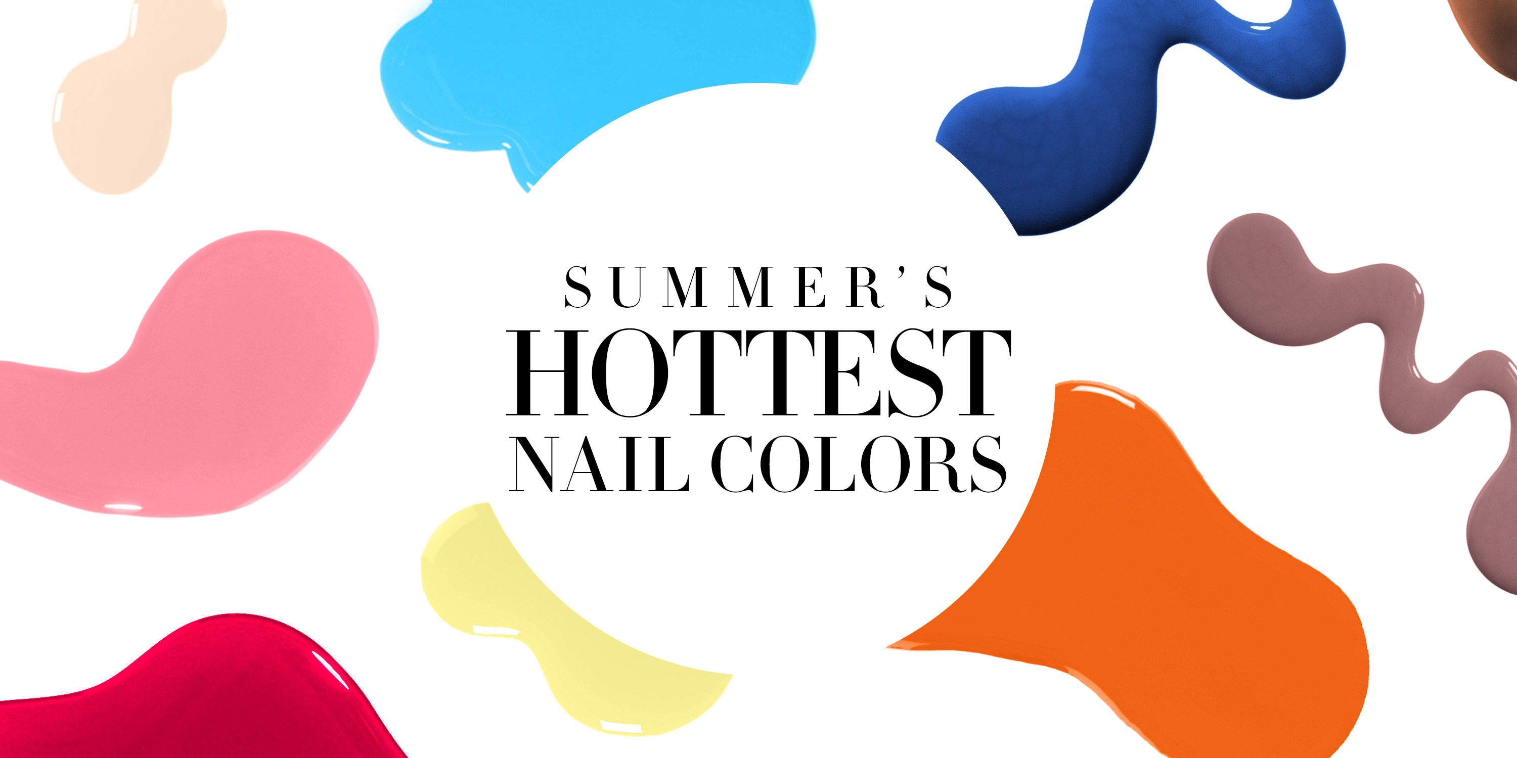 24 Spring Nail Colors for 2019 - Nail Polish You'll Be ...