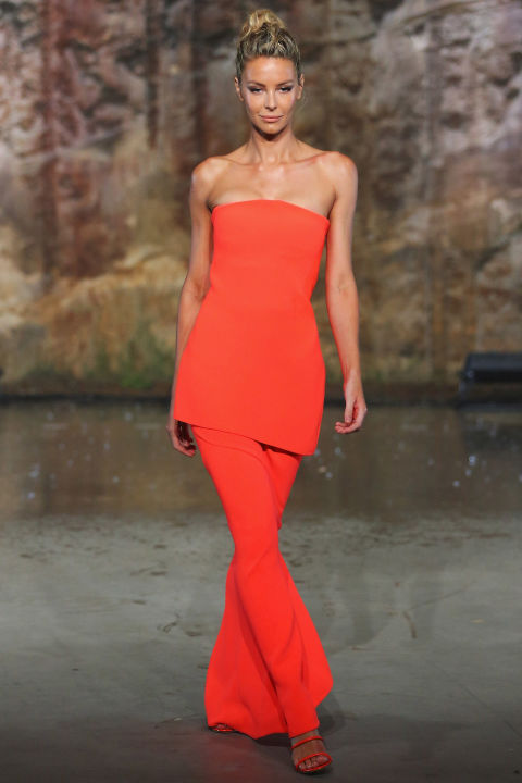 Toni Maticevski is Australia's red carpet star. He has dressed innumerable stars in his grand, knockout gowns—he brings to mind a gorgeous hybrid of Zac Posen and Roland Mouret. Try on a Maticevski and suddenly you're Grace Kelly on the French Riviera. So you'd best not take it off.