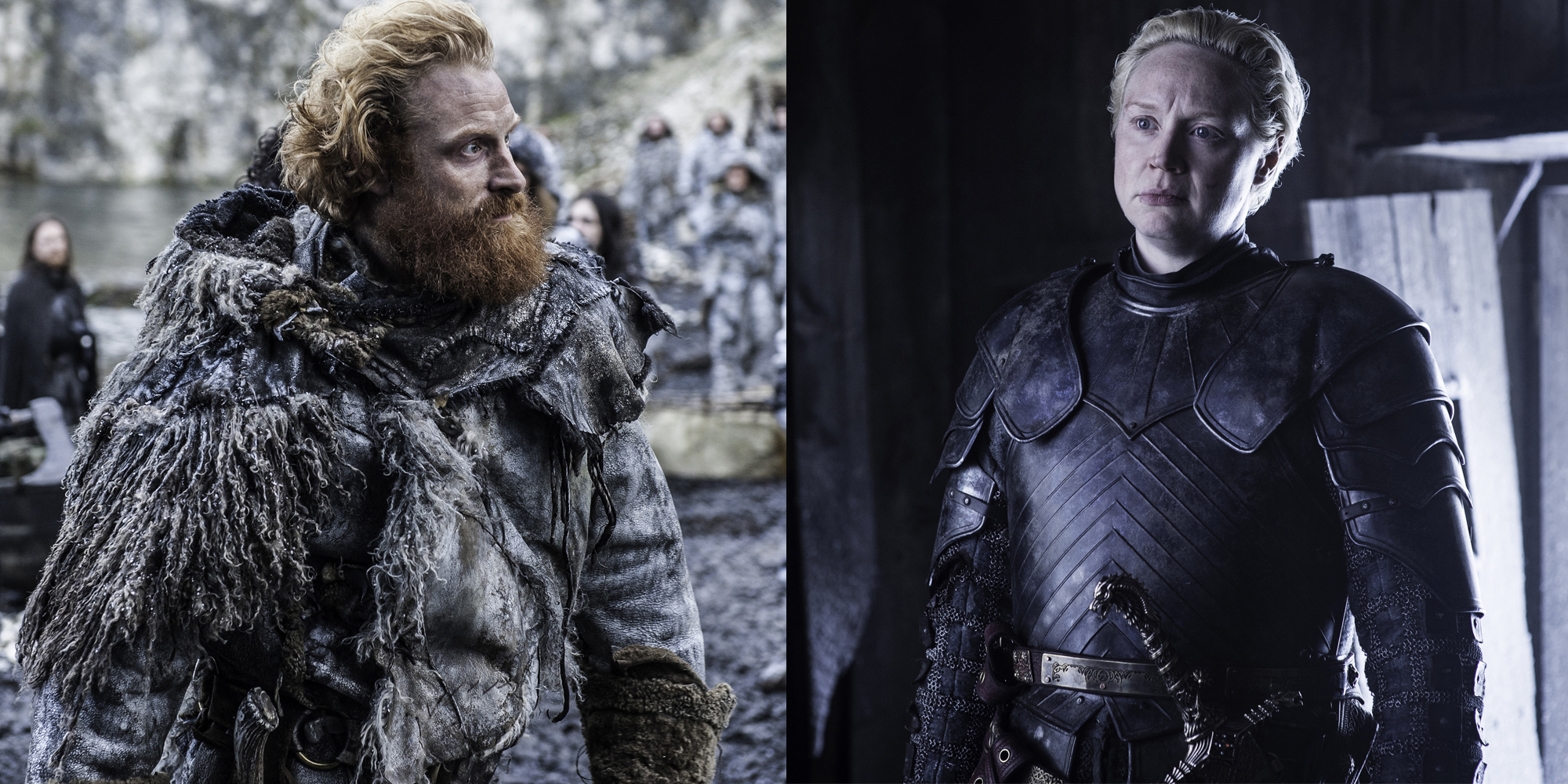 gwendoline christie on brienne and tormund 39 s relationship 39 game of thrones 39 new couple. Black Bedroom Furniture Sets. Home Design Ideas
