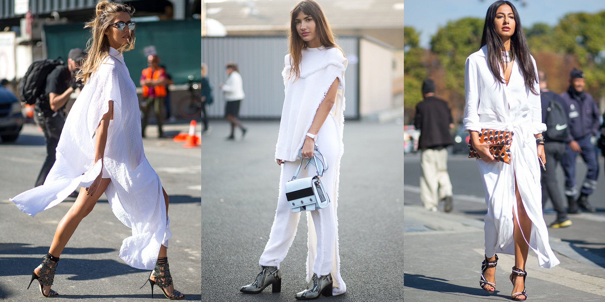 WHITE HOT: SUMMER STREET STYLE EDITION