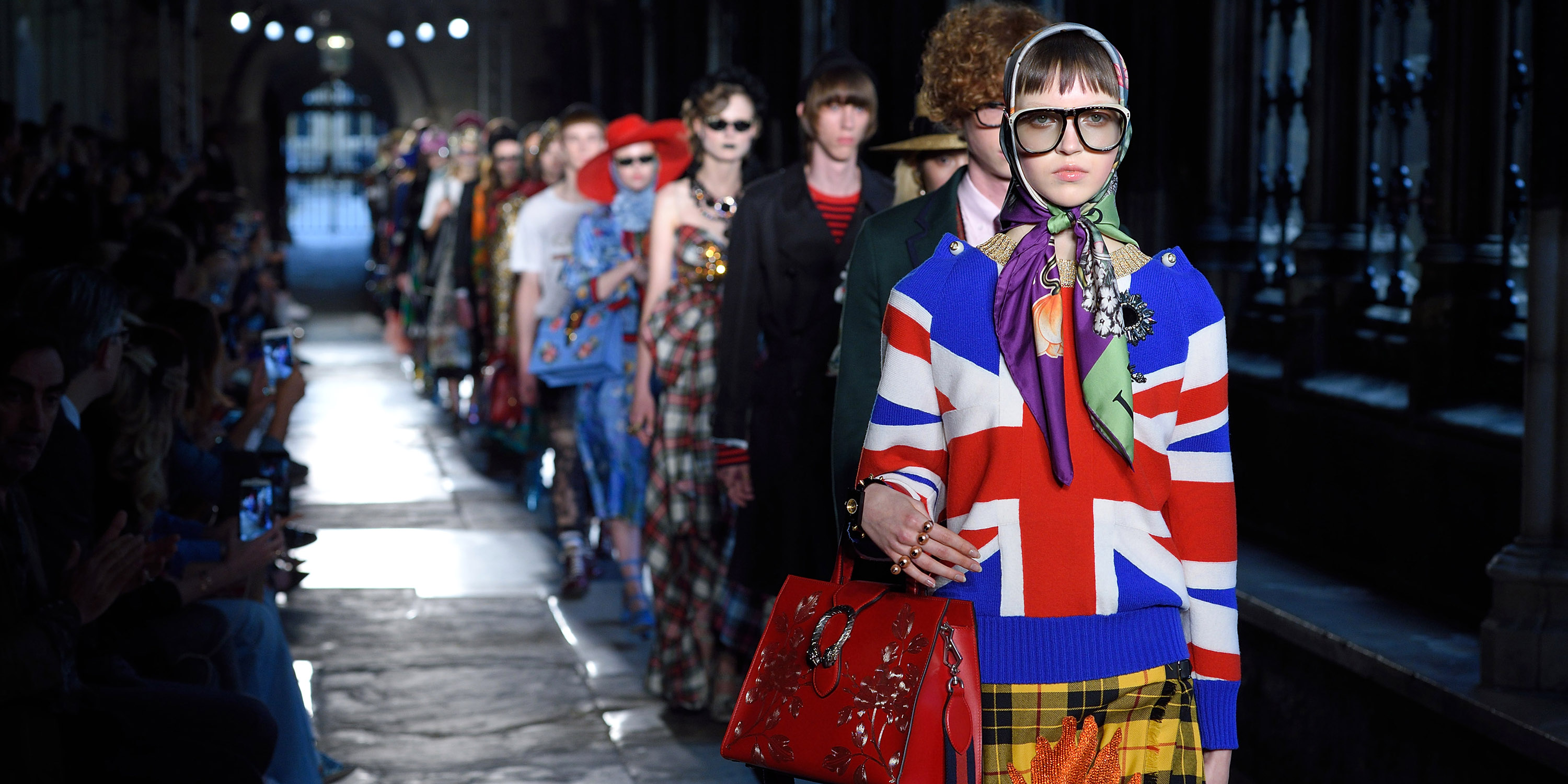 2017 spring summer fashion trends - See Every Runway Look From Gucci Cruise 2017