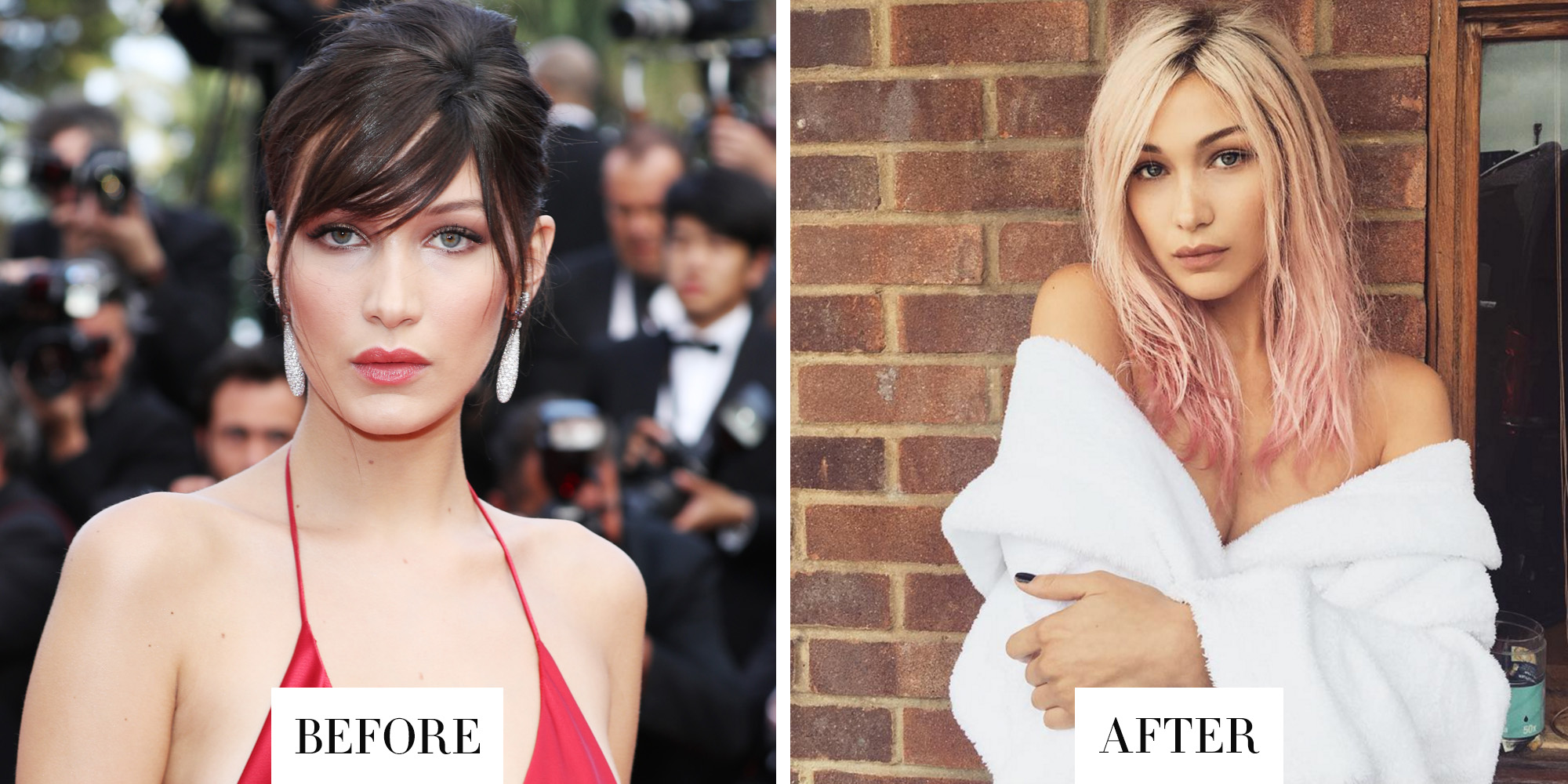 best celebrity hair transformations 2016 celebrity