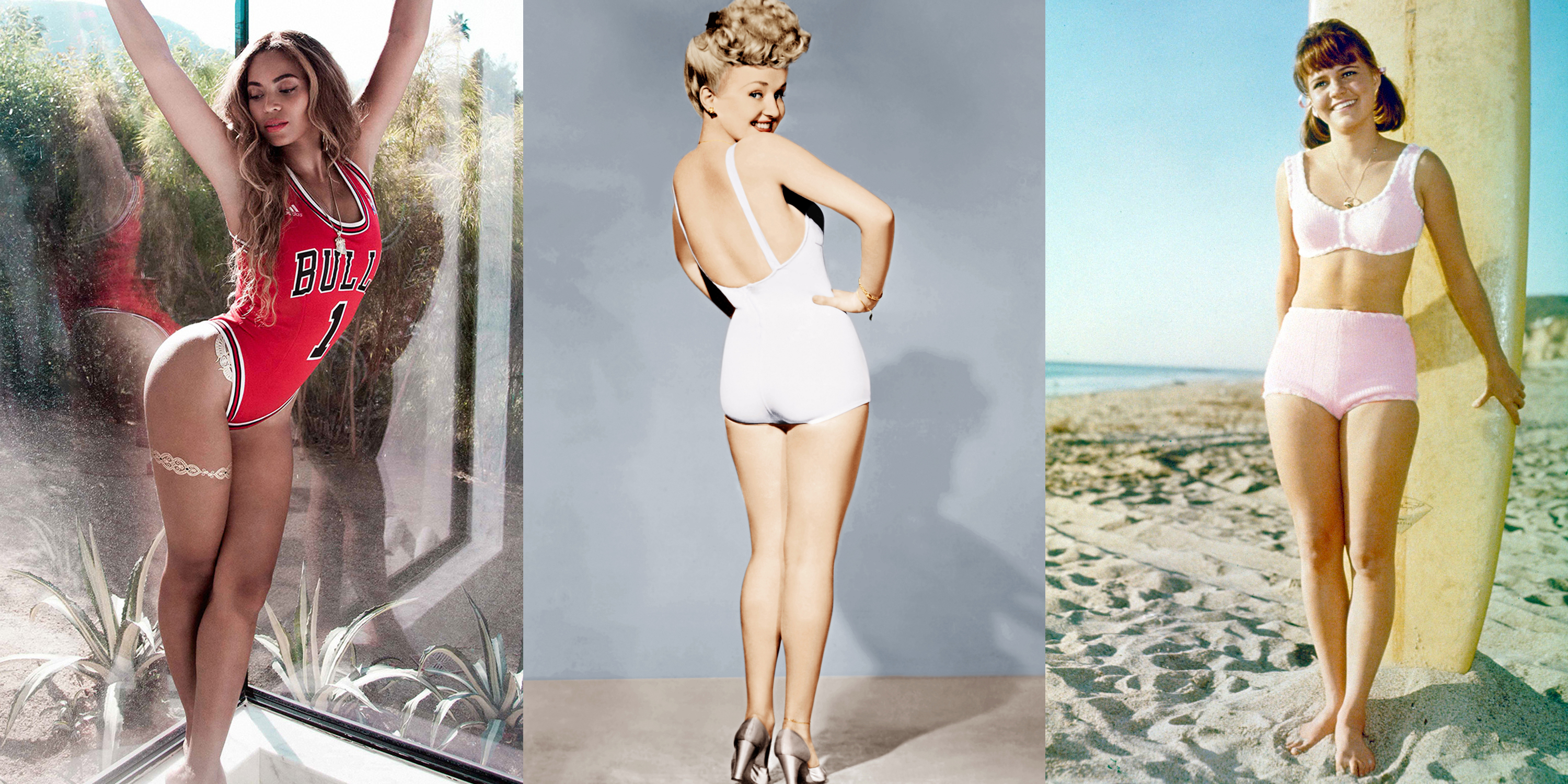 100 Years Of Swimsuits In Photos Swimwear Trends Through