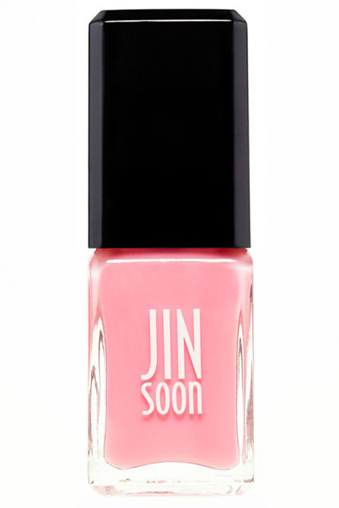 A sheer, ladylike pink for just a hint of healthy shine (and foolproof application). 