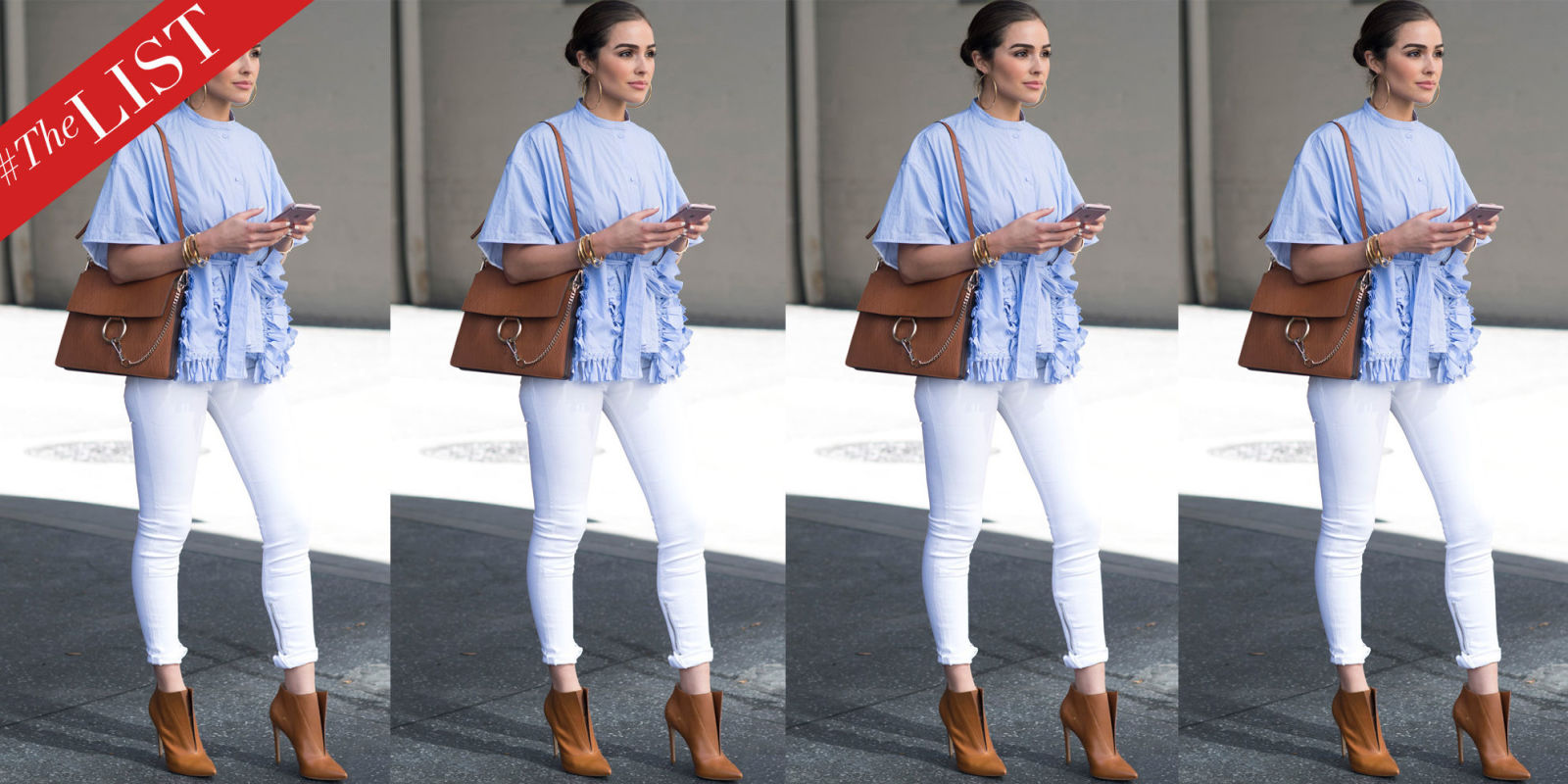 How To Wear White Denim Celebrities In White Jeans
