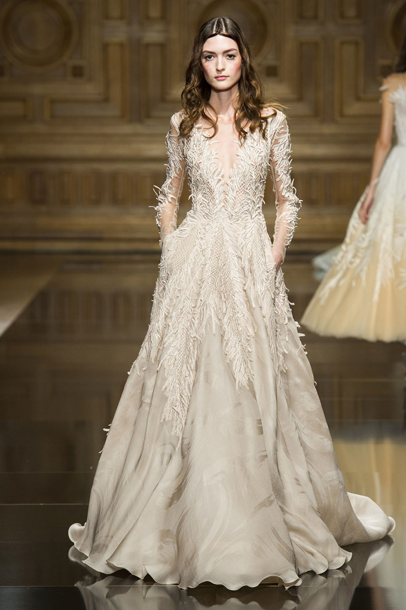 The Best Couture Wedding Gowns from the Fall 2016 Runways - The ...