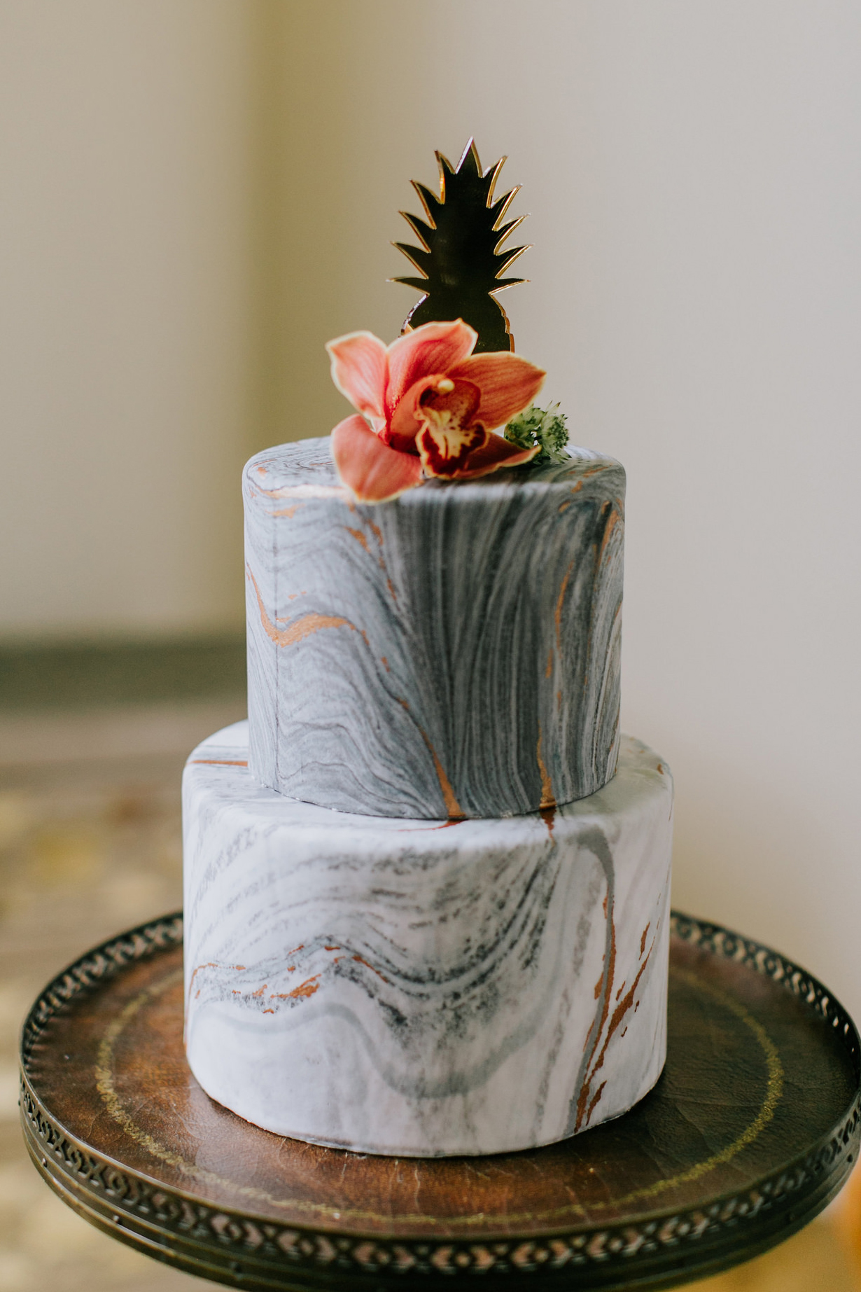 Marble Wedding Cake Designs