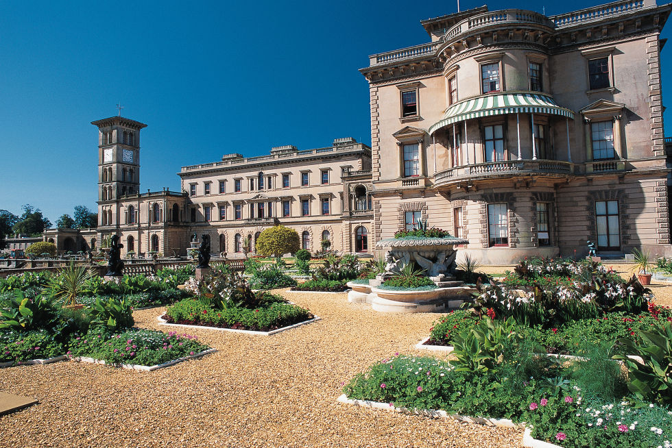 Queen Victoria, the Osborne House in Isle of Wight, UK