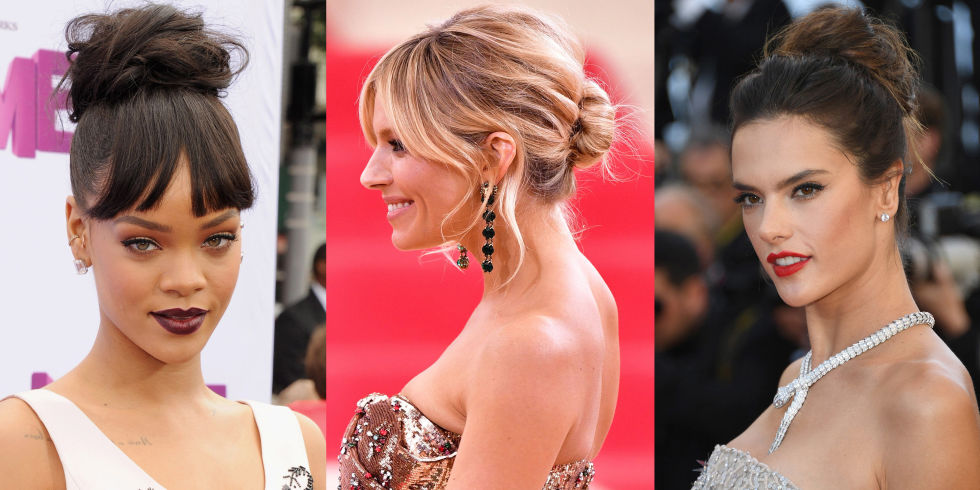 Cool Best Messy Bun Hairstyle Ideas Celebrity Messy Buns We Want To Copy Hairstyles For Women Draintrainus