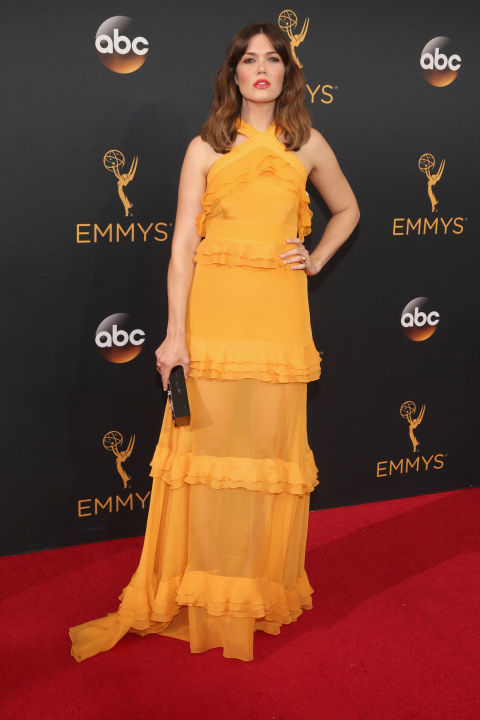 Mandy Moore in Prabal Gurung