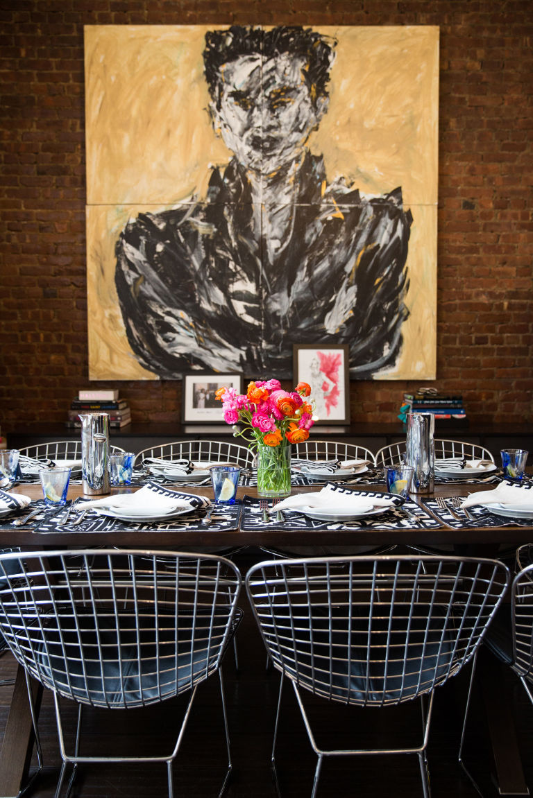 EAT CHIC: At Lunch with Naeem Khan pictures