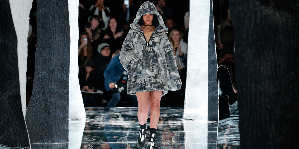 Rihanna to show puma collection at nyfw