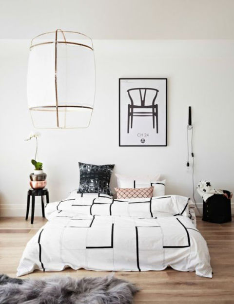 """Don't be burdened too much by deadlines or missing elements—take your time and find the best piece for your style and budget. I'd rather sleep on a mattress on the floor (and I have) than live with a mediocre headboard.""Via Homes to Love"